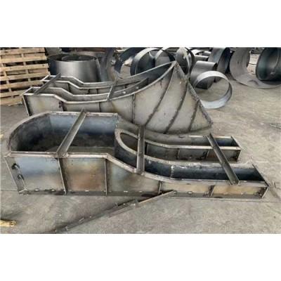 收费岛钢模具设计与制作