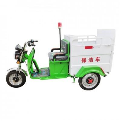 240L单桶垃圾清运车 街道物业垃圾桶转运清洁车