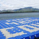 简易拼接组合式平台浮筒 可用于水上浮桥休闲垂钓漂浮游泳池