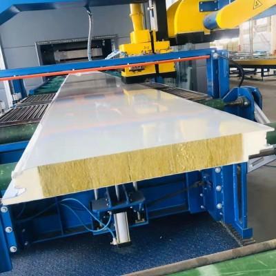 盐城厂家出售 防腐水波纹聚氨酯岩棉夹芯板